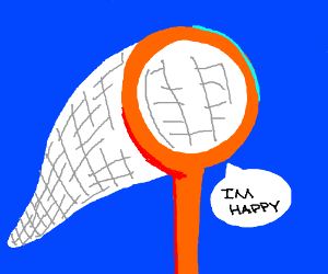 Uhhh...a happy orange net