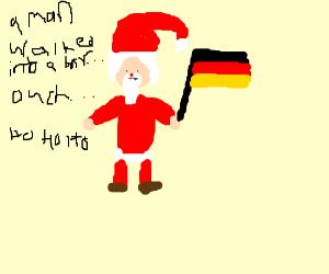 Der komische Weihnachtsmann