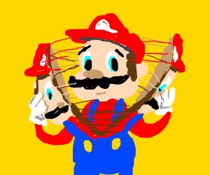 Mario, just kidding, it's Mario, just kidding,