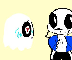 Dead ghost loves Sans