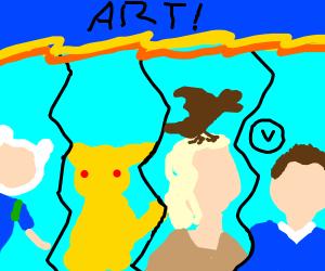 art war 2.0 Finn pikachu khalisi allonzy
