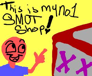 Man loves porn shop (SFW please T-T)