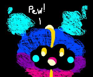 Nebby says pew