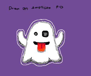 Draw an emoticon PIO