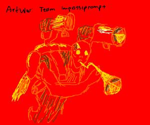 Art War 2.0! Go Team Impossiprompt!