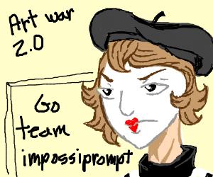 Art War: Team Impossiprompt