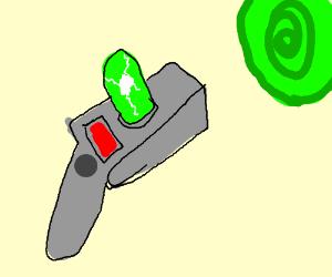 Portal gun from Rick & Morty