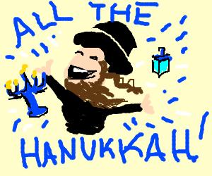 So much Hanukkah