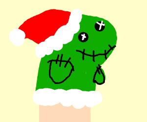 a puppet christmas