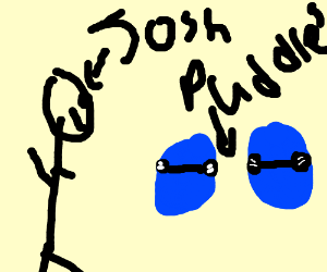 josh finds two cool puddles
