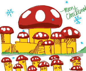 Mushroom Kingdom wishes you a Merry Christmas!