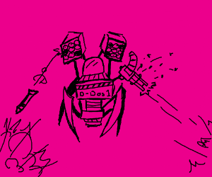 A Metal Gear in a world of pink