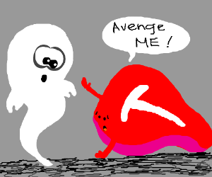 T-Bone steak asks ghost to avenge him