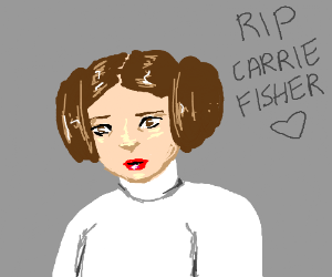 R.I.P. Carrie Fisher, 2016 sucks