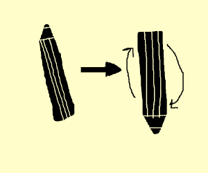 pencil flip