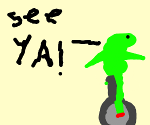 There go dat boi! Oh s--t goodbye!