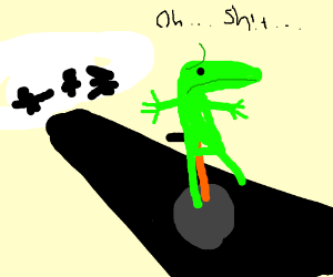 """Mob tryna get dat boi!! """"oh sh!t"""""""