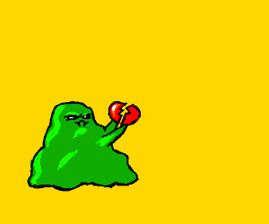 snot monster breaks a heart