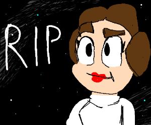 RIP Princess Leia