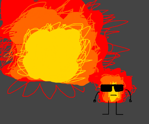 cool explosions don't look at explosions
