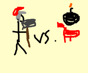 thor vs bomb chicken