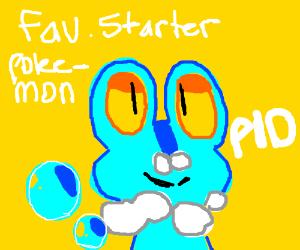 favourite starter Pokemon (P.I.O.)