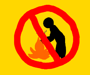 Don't touch the fire