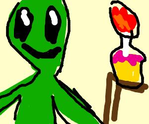 alien bday