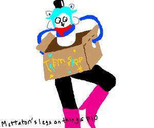 Mettaton legs on things, PIO!