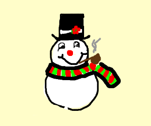 There Must Have Been Some Magicbn Thatoldsilkhattheyfound ...  Dank Frosty Snowman