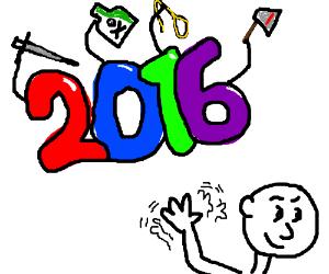 Buh bye 2016!