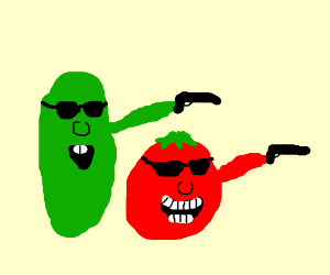 Veggie tales bob and larry commit homicide