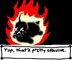 Burning Chikorita