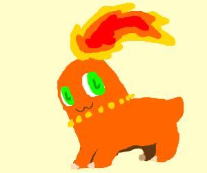If Chikorita was a fire type