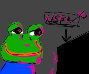 Froggy the stripper commit error
