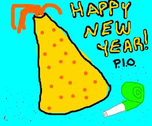 Happy new yer pio