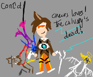 Suddenly tracer killed everyone else contstory