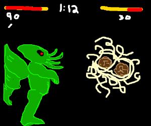 Cthulhu VS Spaghetti Monster