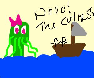 Cute cthulu will destroy you.