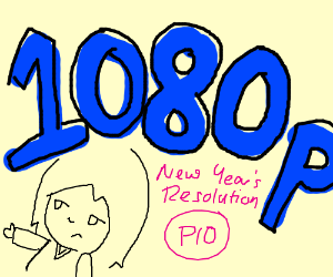 Draw your New Year's resolution