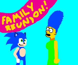 Sonic And Marge Are Related