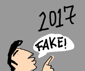 2017 is fake