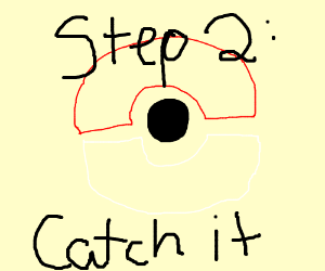 Step 1: Pick up a Rowlet