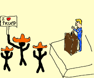 Mexicans love Donald J. Trump