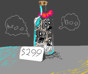 Bottle of ghosts, now only $2.99
