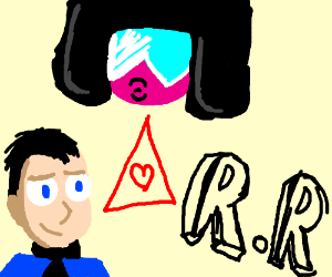 garnet, businessman, and r.r. love triangle