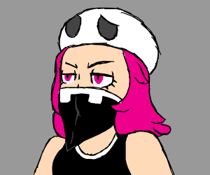 Female team skull grunt