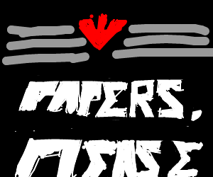Papers please (the game)
