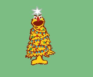 Yellmo is a christmas tree