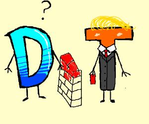 Drawception D and Trump T